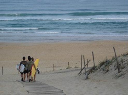 Quel camping choisir en Gironde pour faire du surf' ?