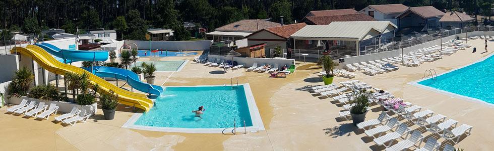 Séjour en camping de luxe sur le Bassin d'Arcachon